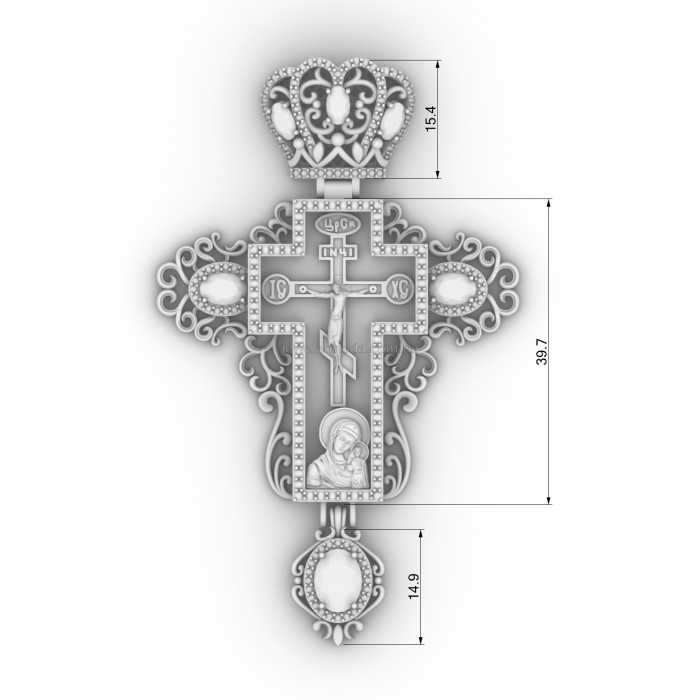 крест 901 687