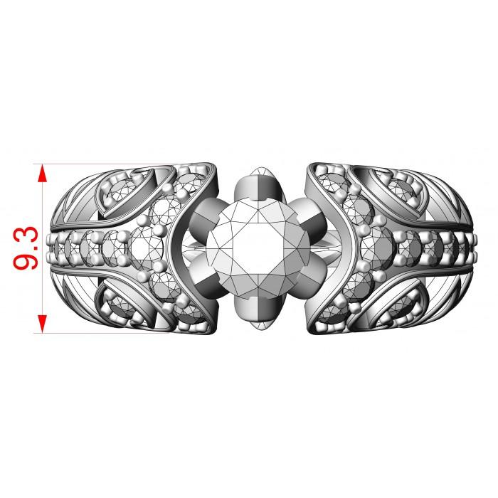 кольцо 004 690