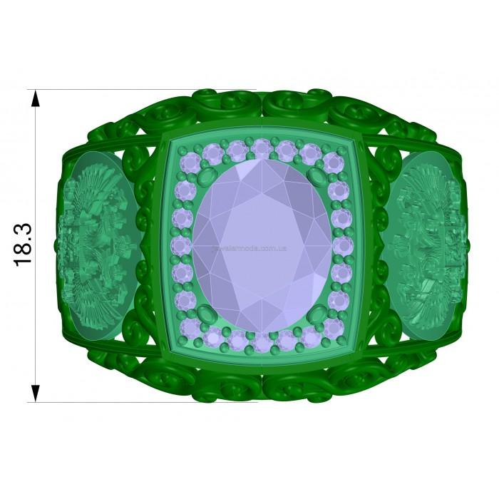 кольцо 007 740