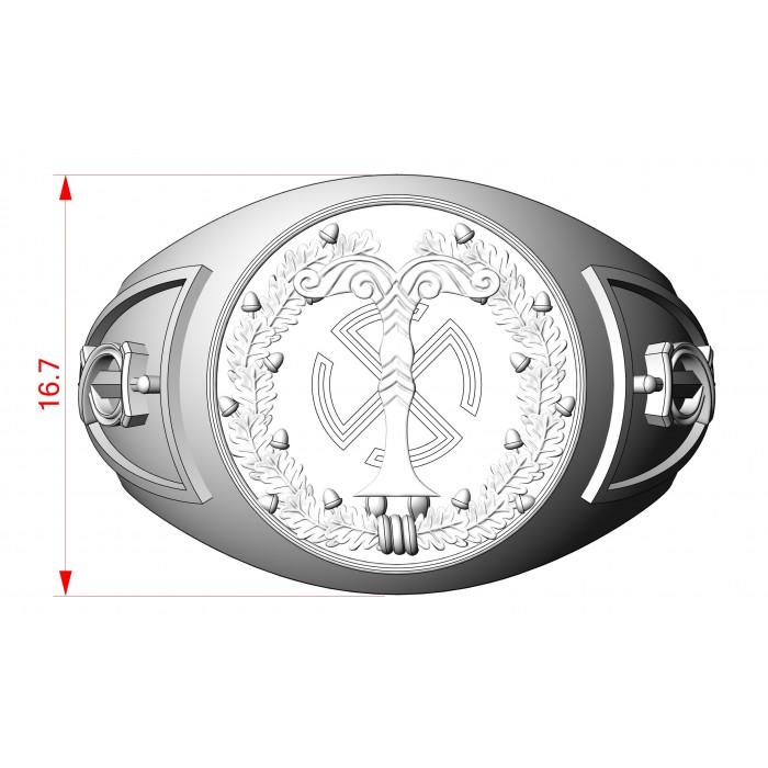 кольцо 008 040