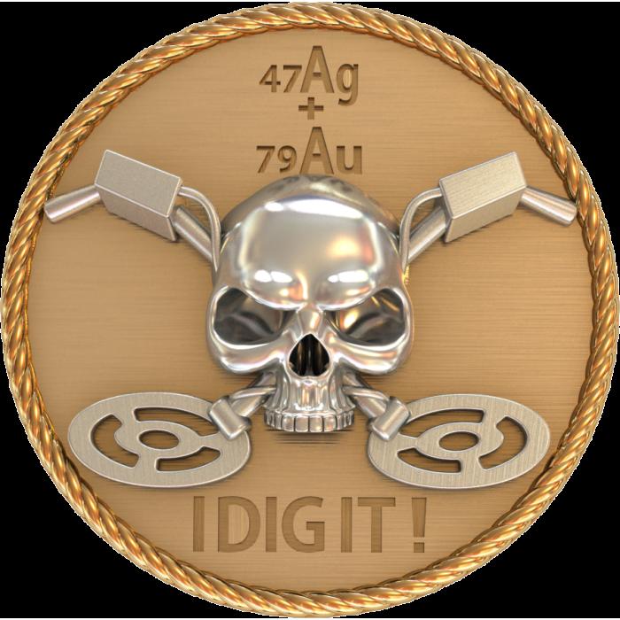 монета 901 287