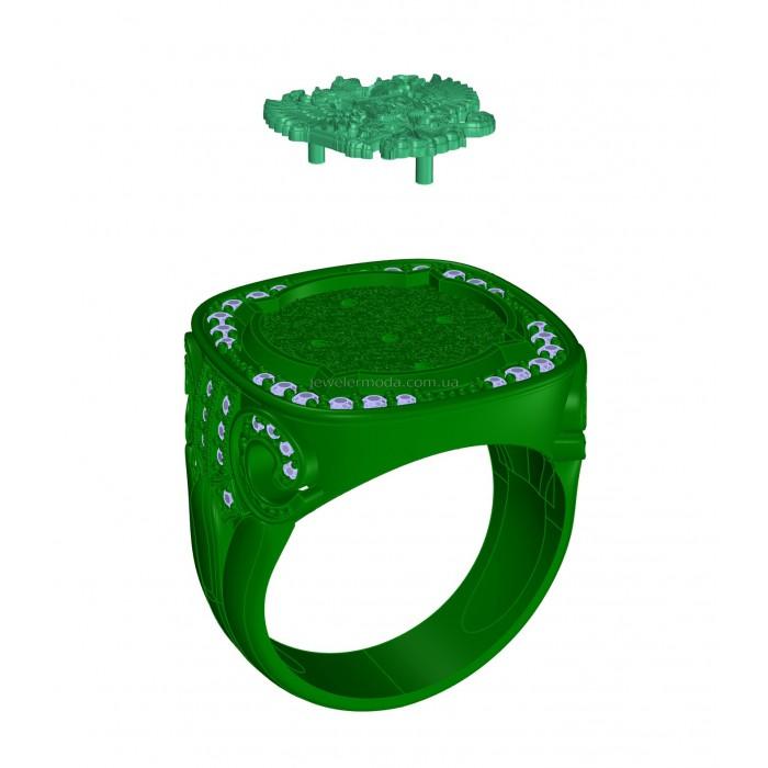 кольцо 007 460
